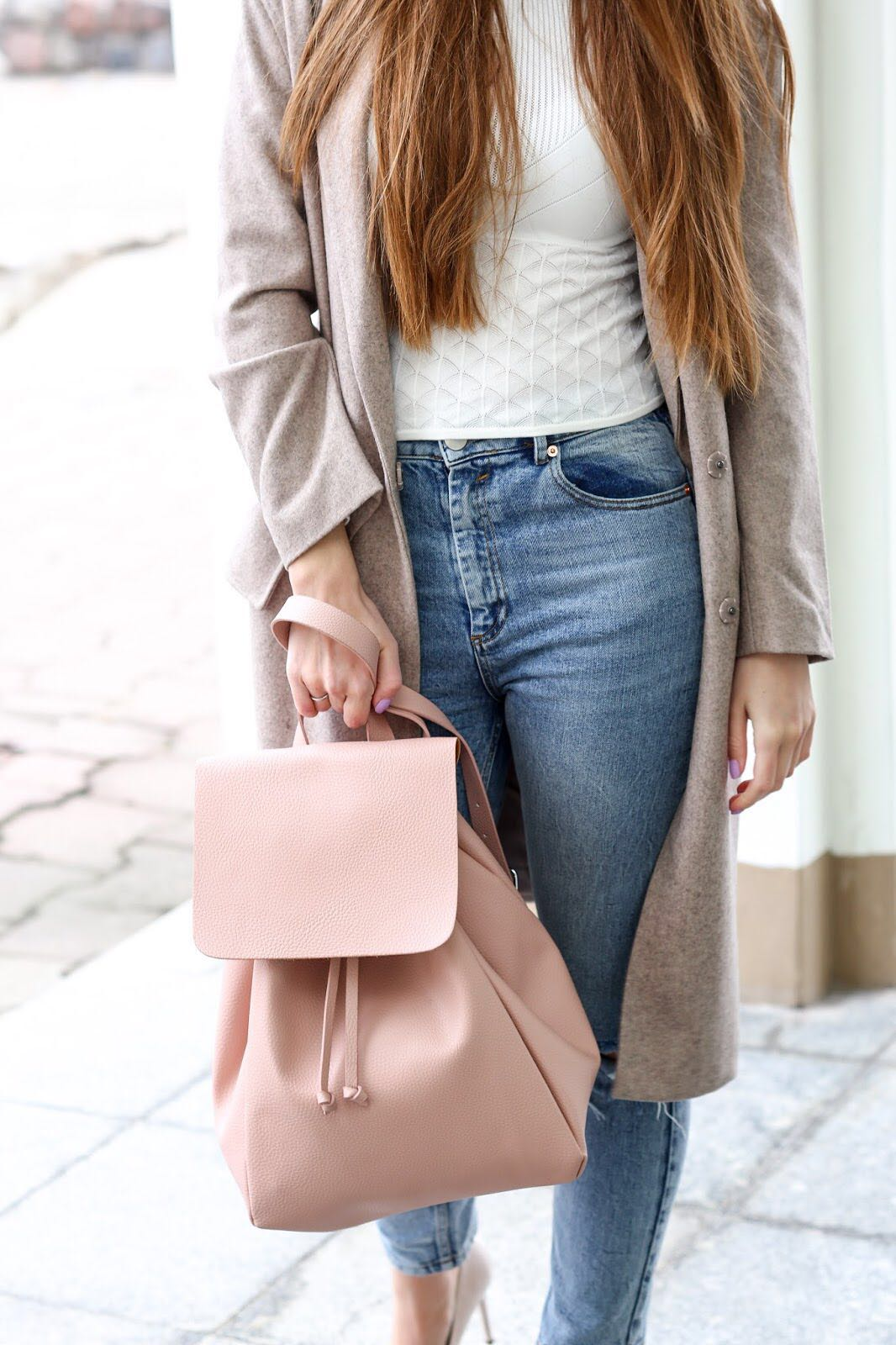 Authentic Zara Pink Bag