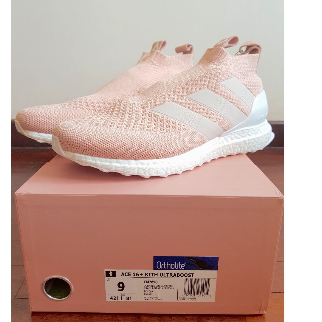 san francisco 96a82 d4018 (Available) US 9 ACE 16 PureControl Ultra Boost Kith Flamingos, Mens  Fashion, Footwear on Carousell