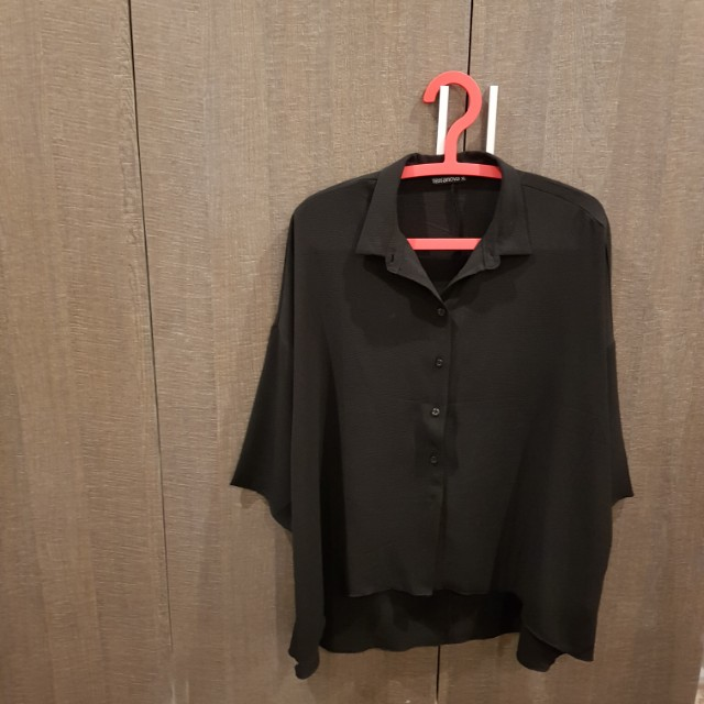 Black Terranova Button Down Shirt