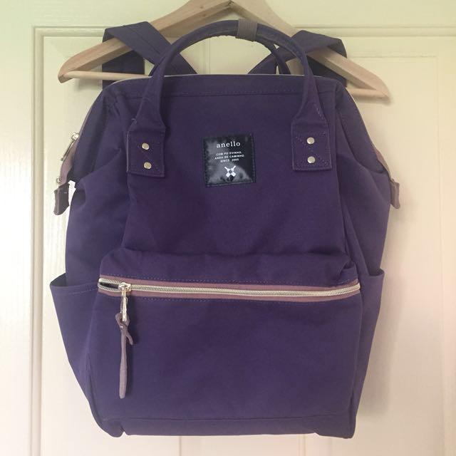 BNWOT Anello Purple Backpack