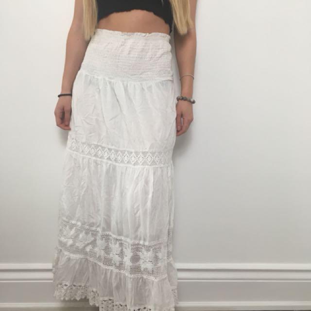 Boho long skirt / dress