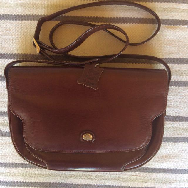 Bonia Half Moon Vintage Bag