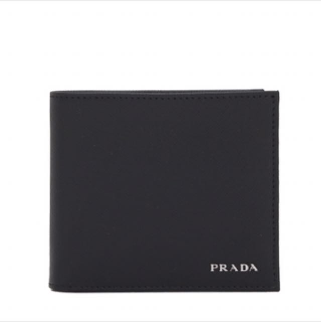44f08ccb896fc9 Brand New Authentic Sealed in Box Prada 2MO513 Saffiano Bifold ...
