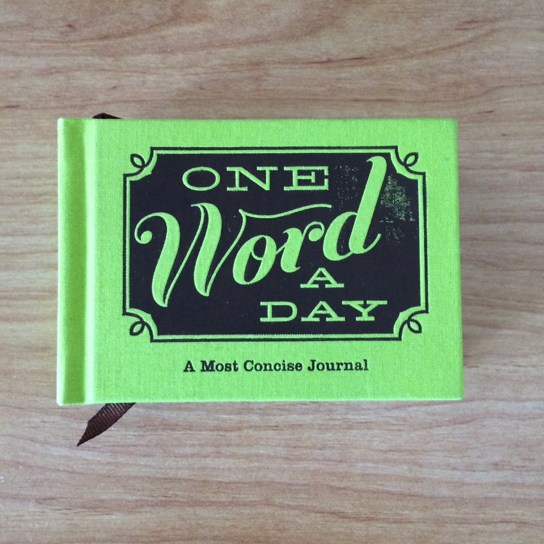 Brand New One Word a Day Journal