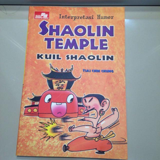 Buku Shaolin Temple Kuil Shaolin
