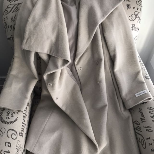 Calvin Klein wrap coat