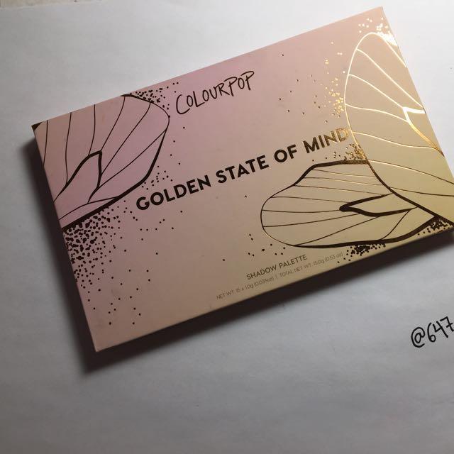 Colourpop Golden State of Mind Pallet