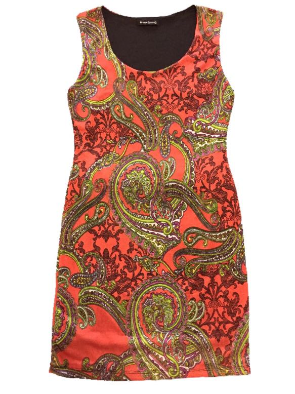 Drama Queen Abstract Dress