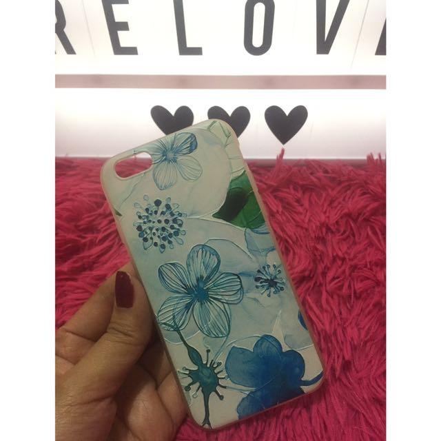Floral Blue case iphone6/6s