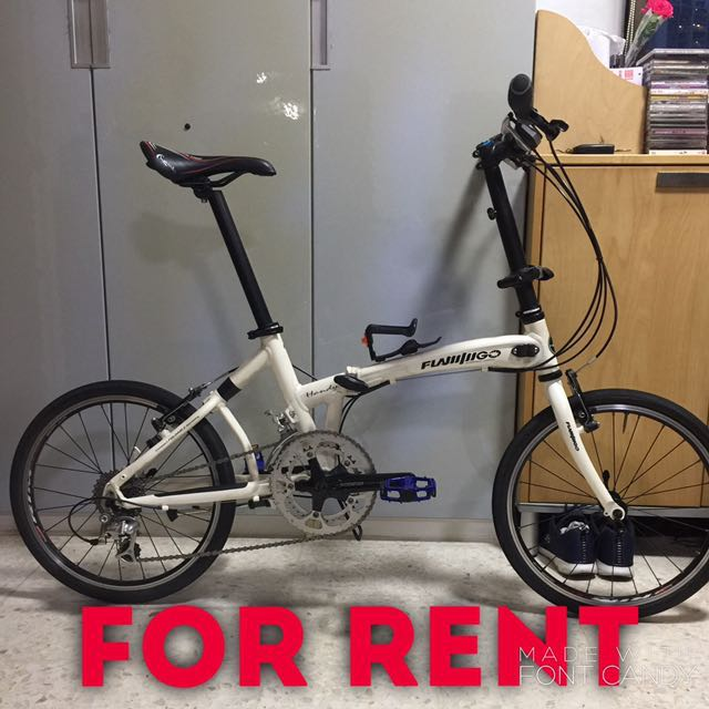 Foldable Bicycle for Rent
