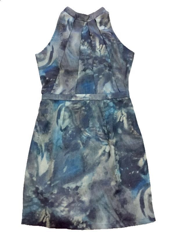 Folded & Hung Abstract Dress