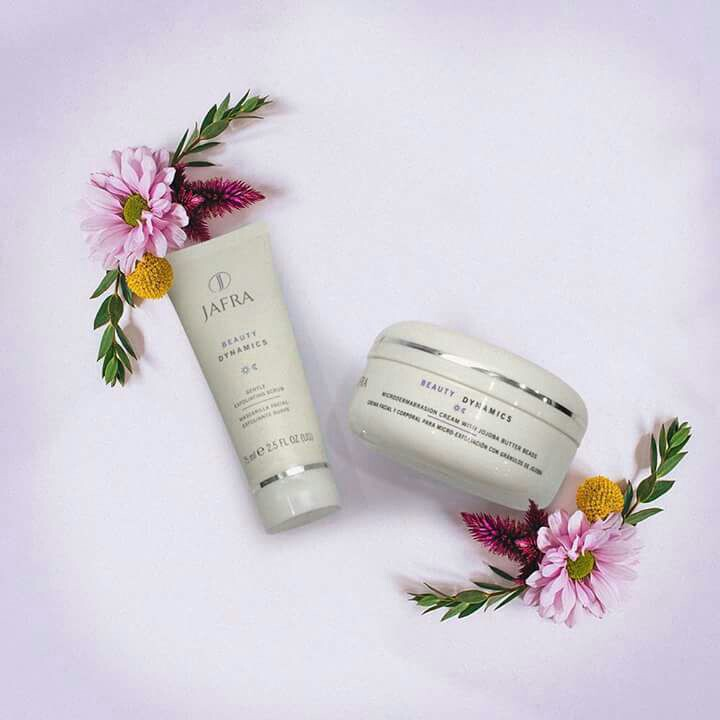 Gentle Exfoliating Scrub & JAFRA Beauty Dynamics