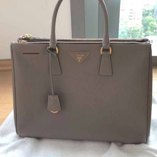 bc5948872b35 Genuine Prada Galleria Saffiano Leather Bag, Women's Fashion, Bags ...