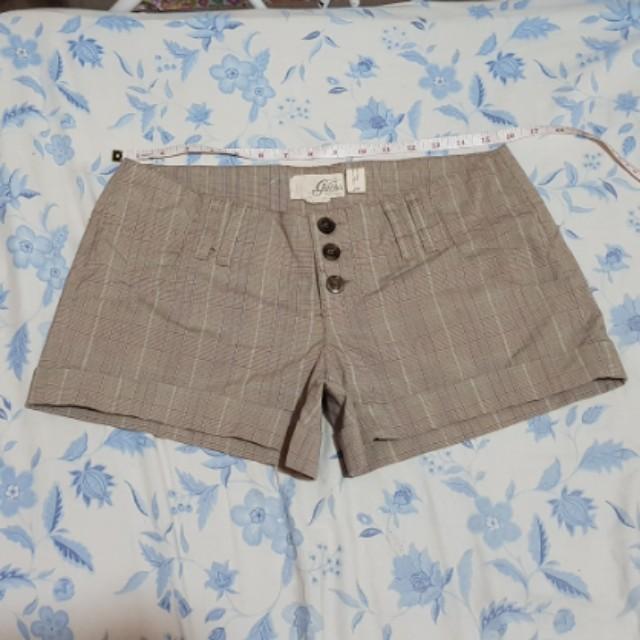 Guess checkered shorts