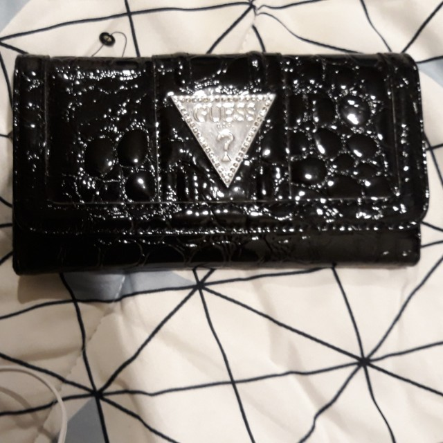 GUESS Wallet in Black or Red *REAL*