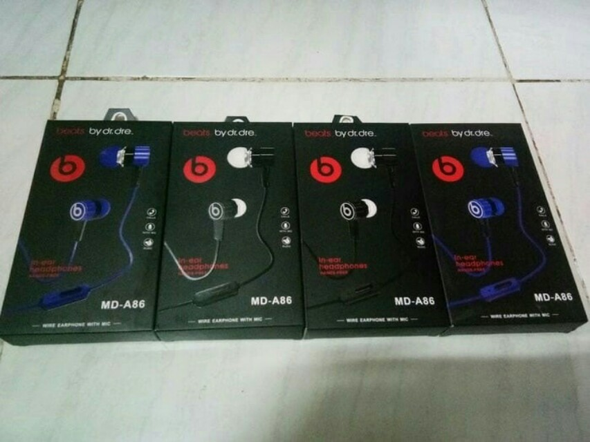 HANDSFREE/HEADPHONE/EARPHONE/HEADSET BEATS MD-A86