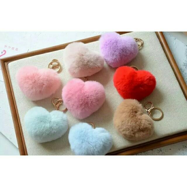 Heart fur