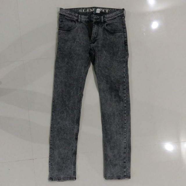 H&M Grey Slim Fit Jeans (Divided)