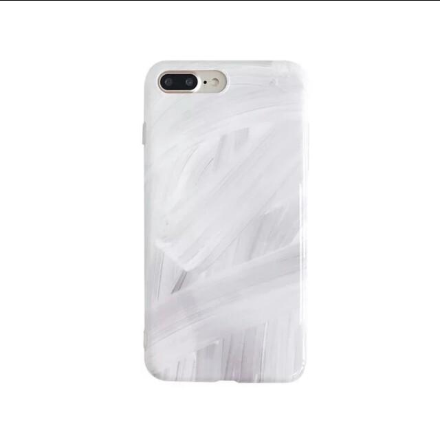 Iphone6s/7+/8/X 手繪油畫感手機軟殼