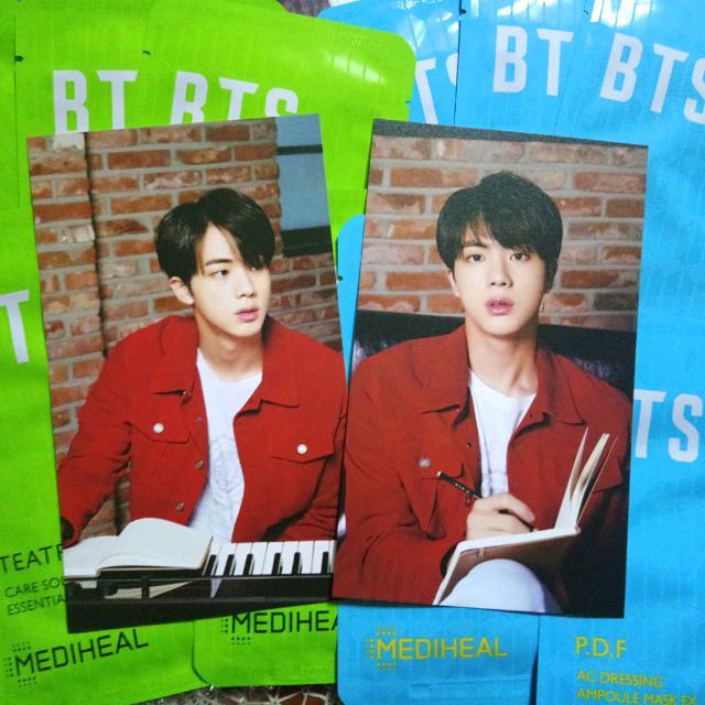 Jin bts x Mediheal soothing Mask Pack