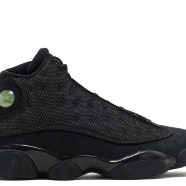 Jordan 13's Black Cat