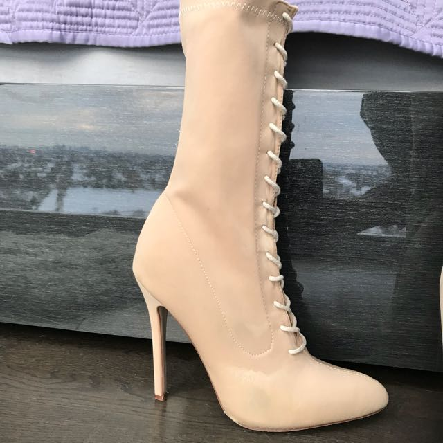 Lace up heels size 8