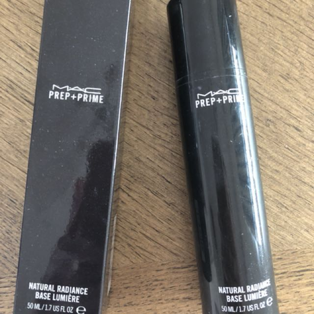 MAC Natural Radiance Primer in Radiant Yellow