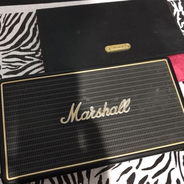 Marshall藍芽隨身音響