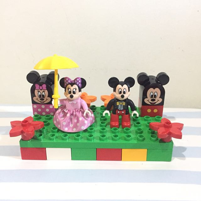 Mickey Minnie Mouse Edition Lego Duplo Original Authentic