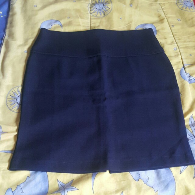 Mini Navy Skirt