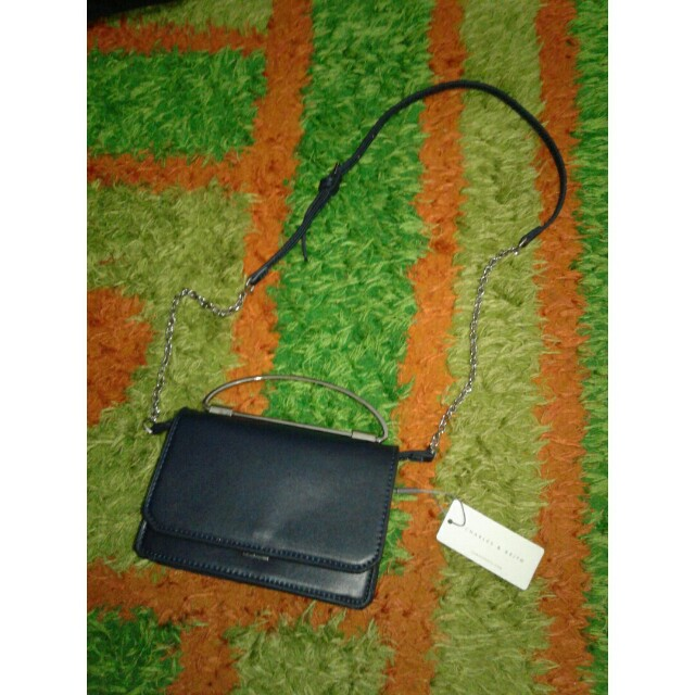 mini sling bag charles & keith original