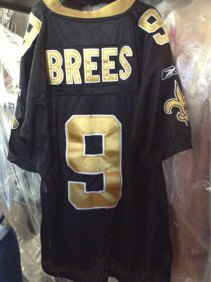 M/L Drew Brees football jersey