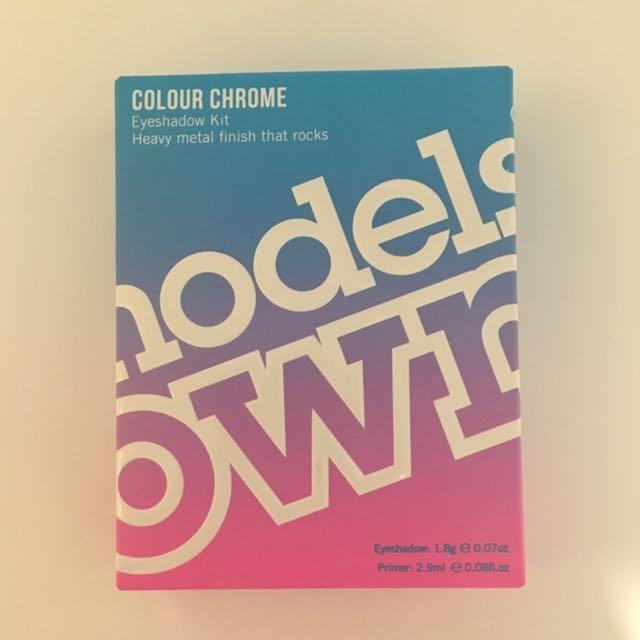 Models Own Colour Chrome Kit Eyeshadow in Night Galaxy