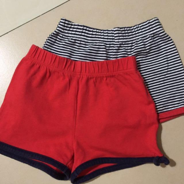 Mothercare baby shorts