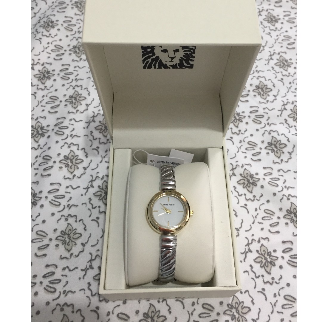 New!! Anne Klein Women's Two Tone Watch