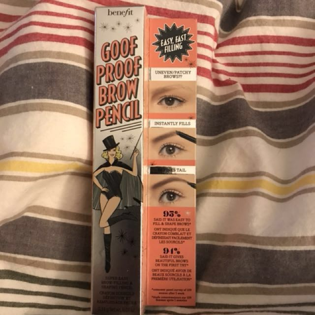 New Benefit Goof Proof Brow Pencil Shade 3