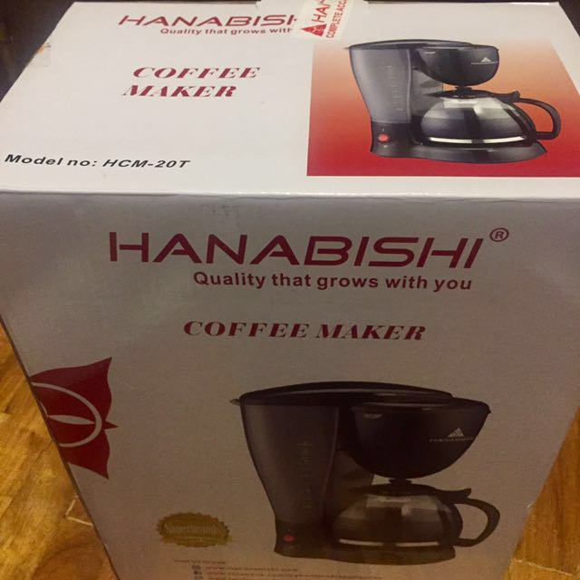 New Hanabishi Coffee Maker (10-12 cups)
