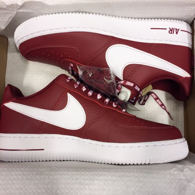 "Nike Air Force 1 '07 LV8 ""NBA Pack"" Team Red"