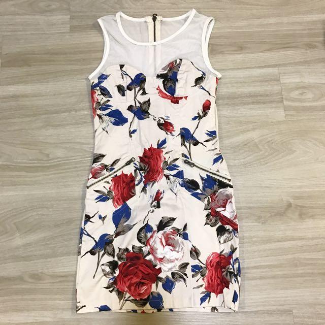 Oriental Floral Dress
