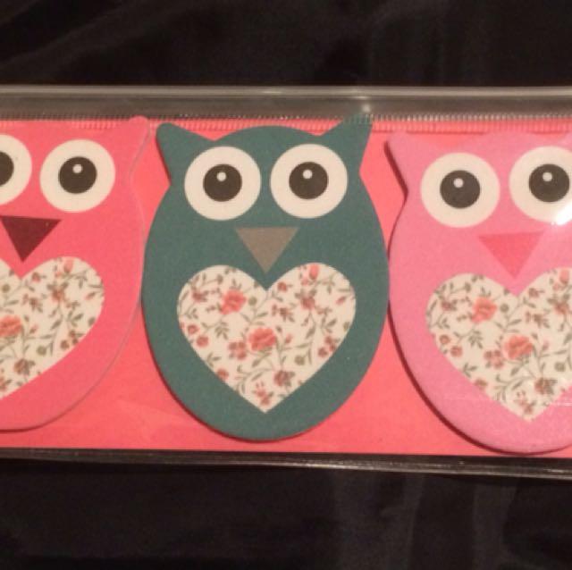 Owl nail files