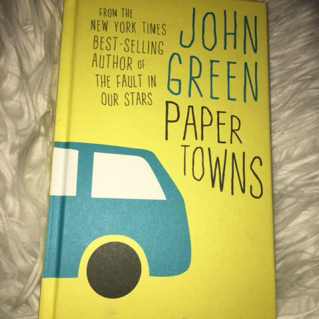 Paper Towns by John Green (hardback)