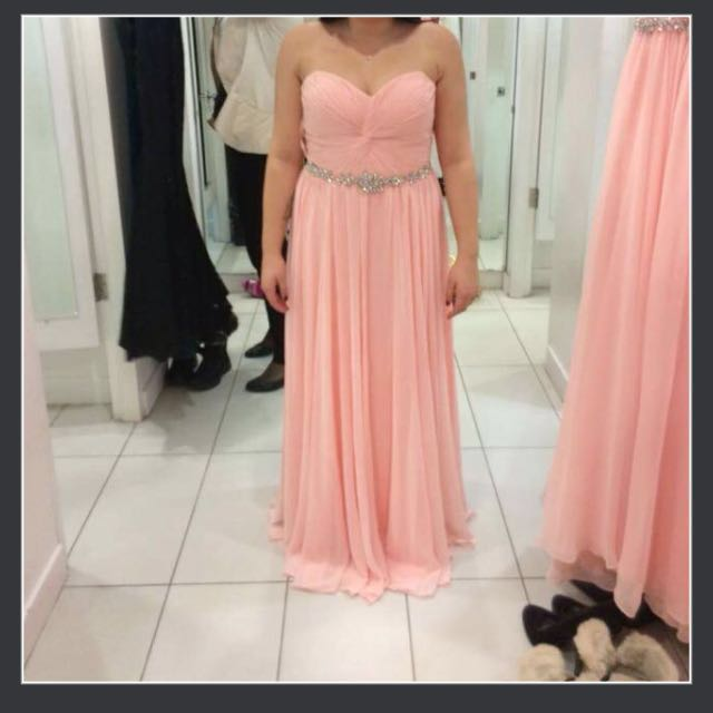 Peach Beautiful Prom/Grad Dress