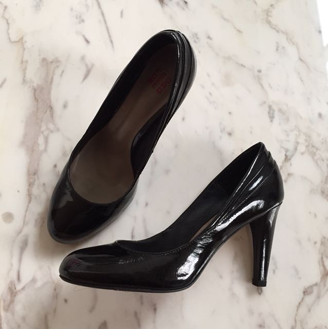 Pedder Red Black Heels