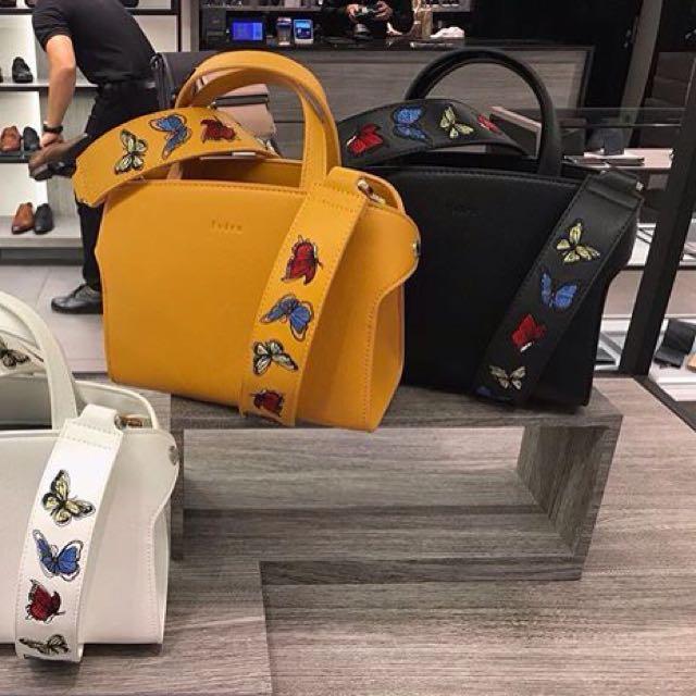 Pedro Black Handbag with Strap