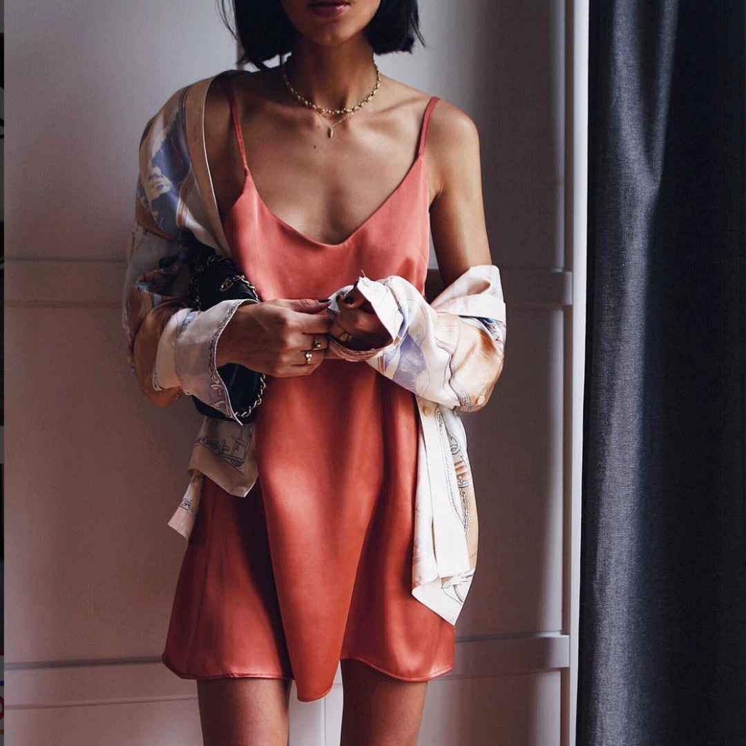 Posse Alexa Silk Slip Dress posse gingham Jane dress Bec & and Bridge  dress maurie eve manning cartell sir the label realisation par posse verge girl zara zimmermann playsuit 2 piece set small/8