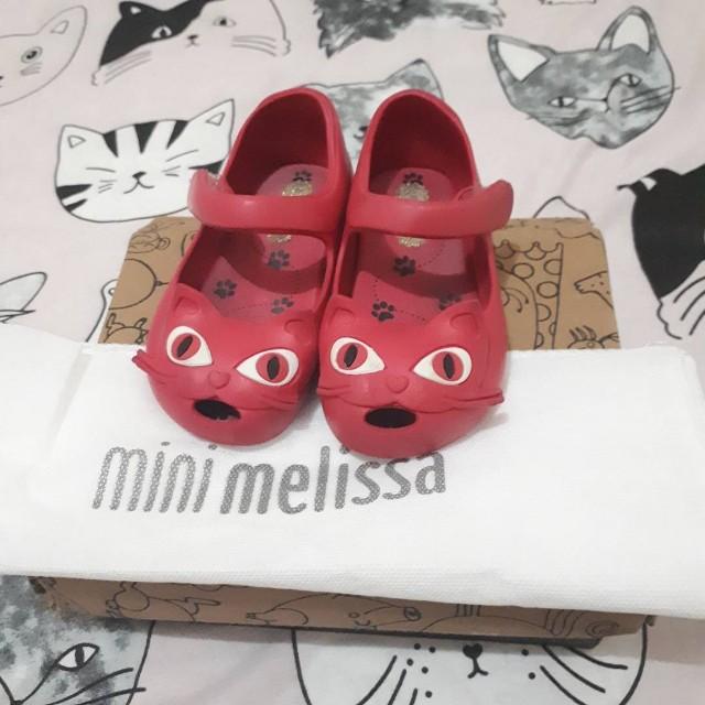 Preloved Mini melissa pink fuschia size 5