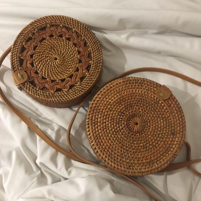 Rattan Native Bags