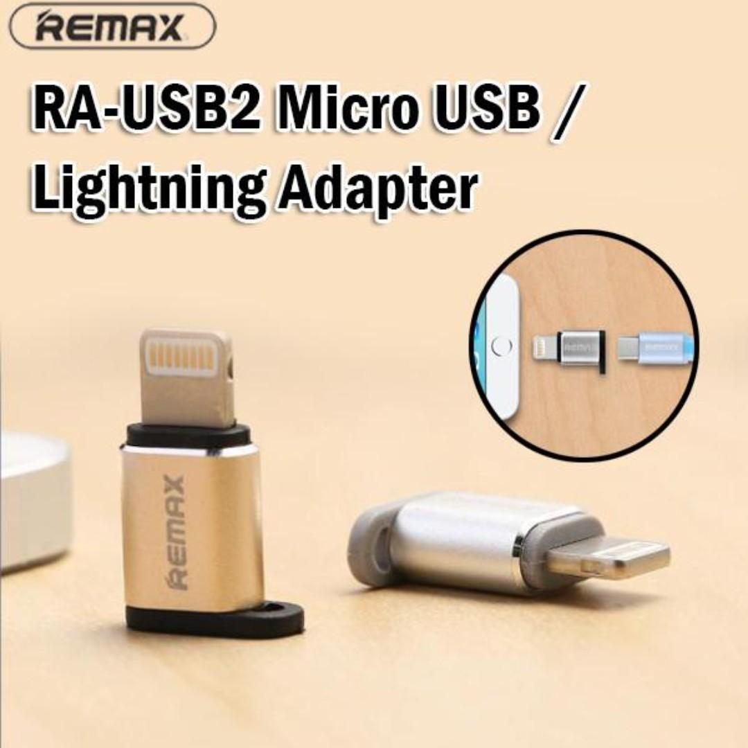 Remax Micro-USB TO Lightning IOS Convertor Feliz RA-USB2