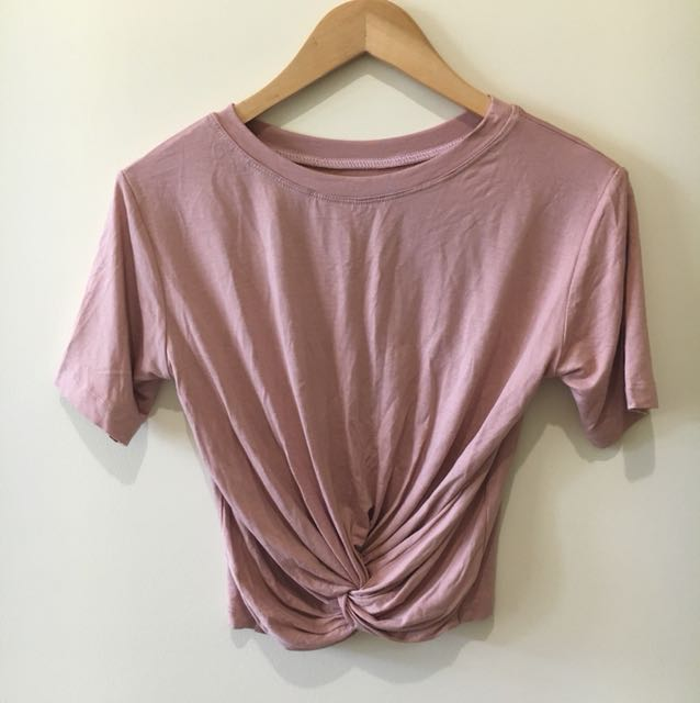Rose Gold Crop Top - XS to Small