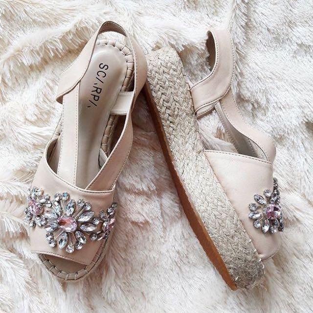 Scarpa Jewel Platform Sandal
